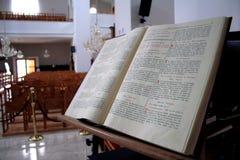 Livre de psaumes Photographie stock libre de droits