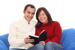 Livre de relevé de couples Images libres de droits