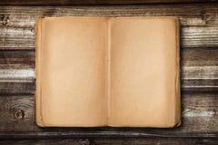Livre de vintage avec l'espace vide à écrire Images stock