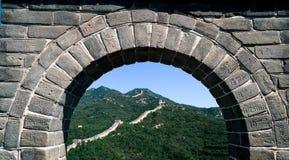 Livre de visiteurs de Grande Muraille dans la pierre Images libres de droits