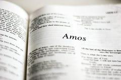 Livre des AMOs Image libre de droits