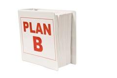 Livre du plan B Images stock