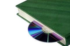 Livre et disque photo stock