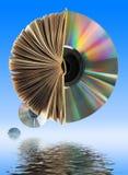 Livre et disque Photographie stock libre de droits