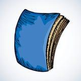 Livre fermé Retrait de vecteur illustration de vecteur