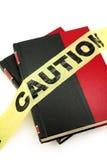 Livre interdit photos stock