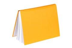 Livre jaune Photo stock