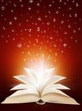 Livre magique Photographie stock