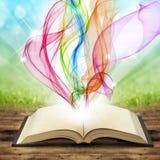 Livre magique Images stock