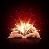 Livre magique illustration stock
