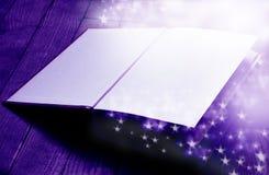 Livre magique Photo stock