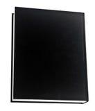Livre noir dans la rangée Photos stock