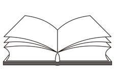 Livre ouvert illustration stock