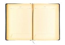 Livre ouvert Photo stock