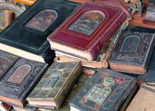 Livre religieux juif antique. Image stock