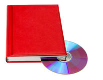 Livre rouge Photographie stock