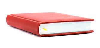 Livre rouge avec un signet Photo stock