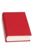 Livre rouge d'isolement Image stock