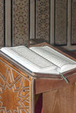 Livre sacré Coran Photographie stock