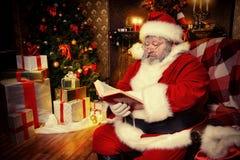 Livre Santa Image stock