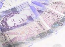 Livre sterling Image stock
