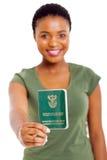 Livre sud-africain d'identification photo stock