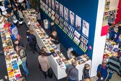 """Livre traditionnel annuel de Vilnius loyalement """"20 ans après que """"à Vilnius, centre d'exposition de Litexpo images libres de droits"""