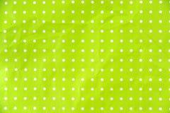 Livre vert de chaux avec les points blancs Photo libre de droits