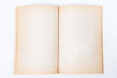 Livre vieux et de vintage d'ouverture Photographie stock