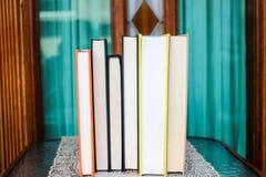 Livres à afficher Photos stock