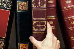 Livres antiques Image stock