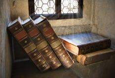 livres antiques Images stock