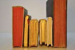 Livres antiques de rangée Image libre de droits