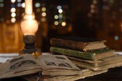 Livres antiques image libre de droits