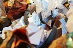 Livres aux déchets, fond images libres de droits