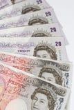 Livres britanniques Photo stock