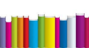 Livres colorés Images stock