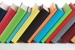 Livres colorés Photos stock