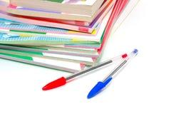 Livres d'école Image stock