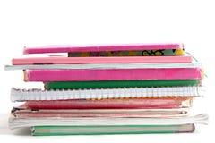 Livres d'école Photographie stock
