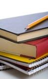 Livres d'école Photographie stock libre de droits
