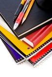 Livres d'école Images stock