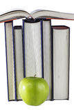 Livres d'école Apple Images libres de droits