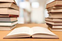 Livres d'éducation Photographie stock
