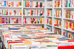 Livres dans la librairie Photo libre de droits