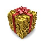 Livres de cadeau d'argent Image stock