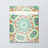 Livres de couverture Couverture modelée lumineuse pour le catalogue Photos stock