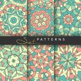 Livres de couverture de l'ensemble 6 Couvertures modelées lumineuses pour le catalogue Photo stock