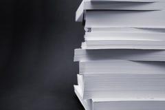 Livres de livre broché Photographie stock