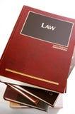 Livres de loi Photo stock